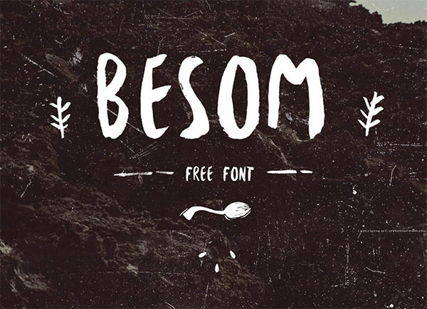 brush lettering typeface