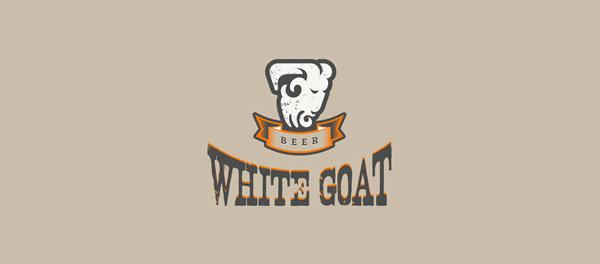 cute goat branding