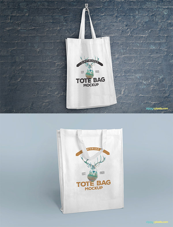 bag mockup set