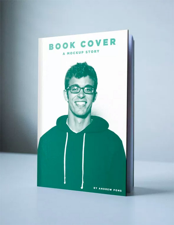 standing book template