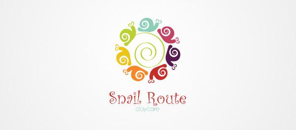 cute snails logos