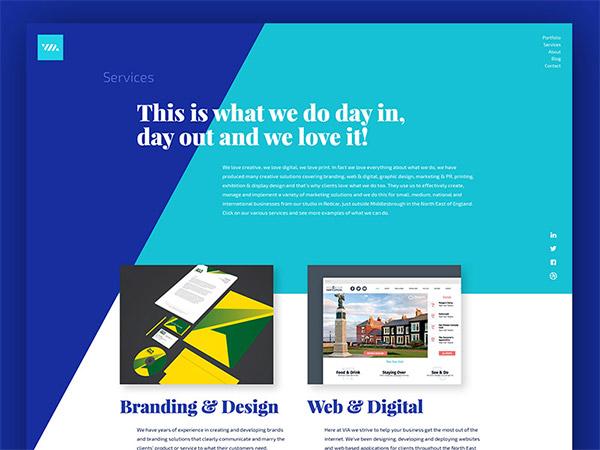 header concept design