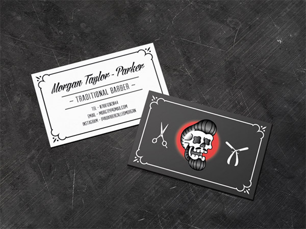 hipster business card