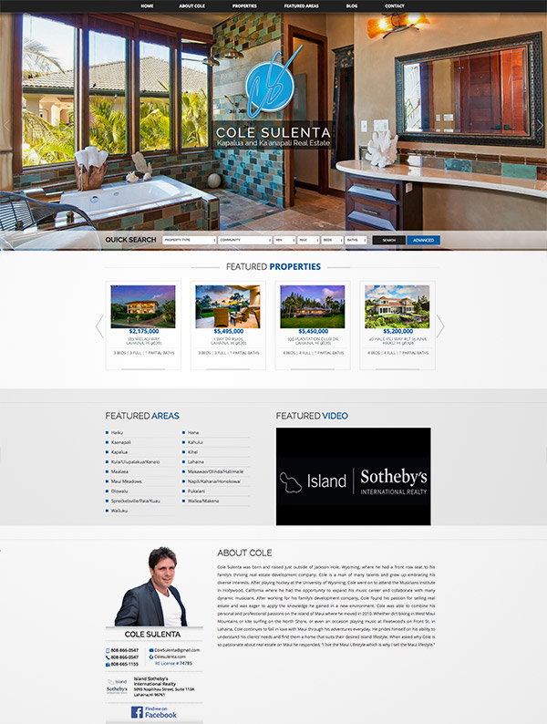home estate website