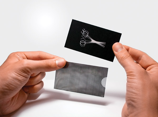 creative barbers business card