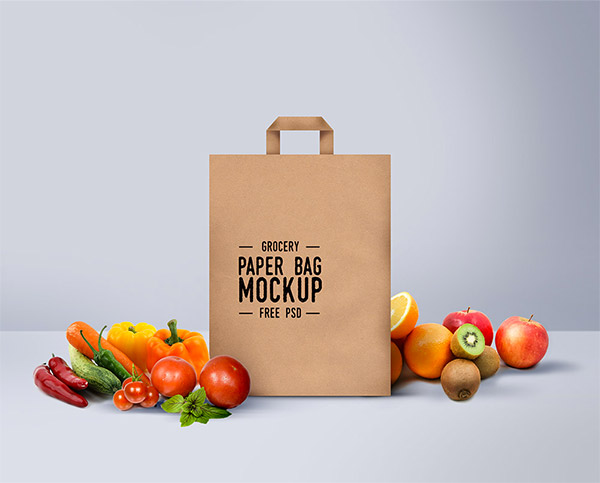 grocery bag design