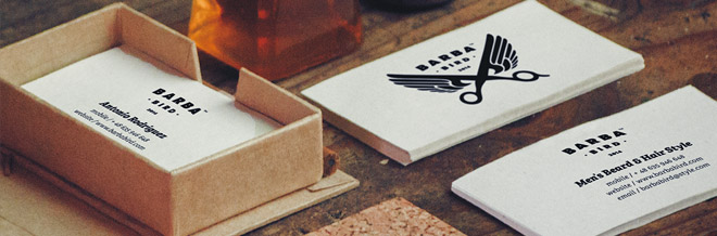 25+ Beautiful Barber Business Card Designs
