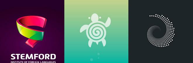 30+ Mesmerizing Spiral Logo Designs