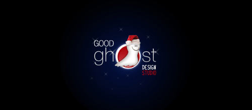 Christmas Goodghost Logotype