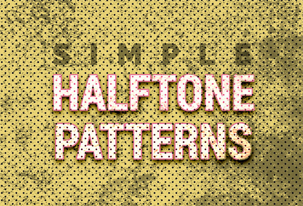 photoshop pattern dots