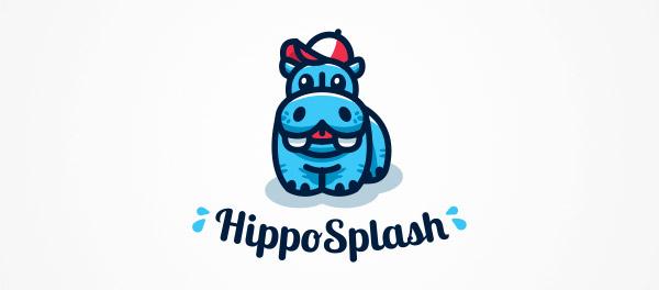 kiddie style hippopotamus
