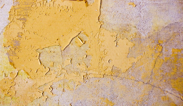 yellow paint texture