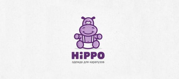 baby hippo design