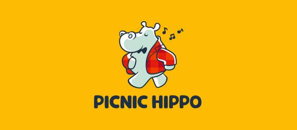 musical hippo branding