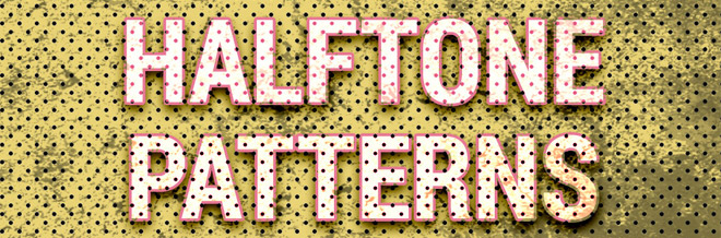 70+ Free Halftone Pattern Texture Resources