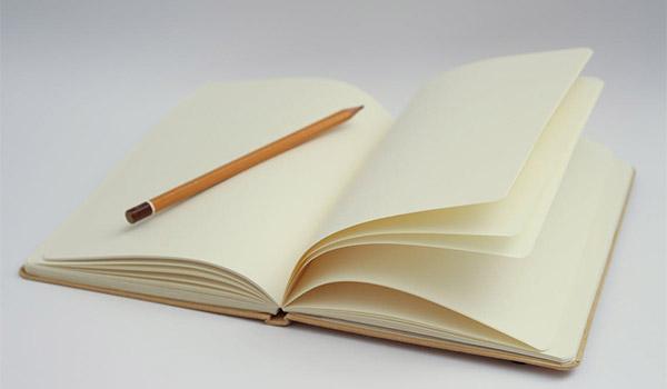graphic designer writing e-books