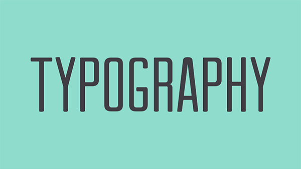 basics typography