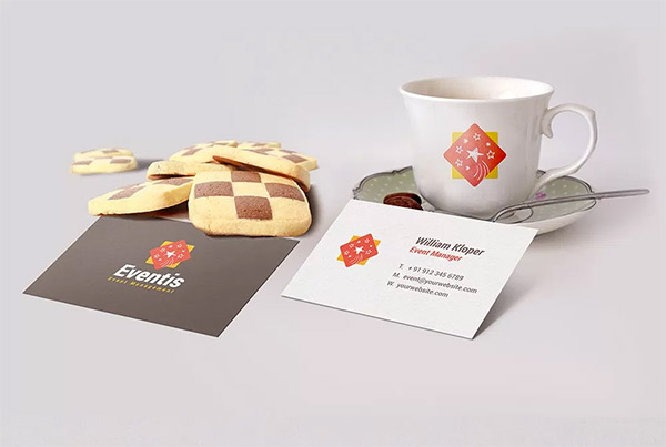 bcard cup template
