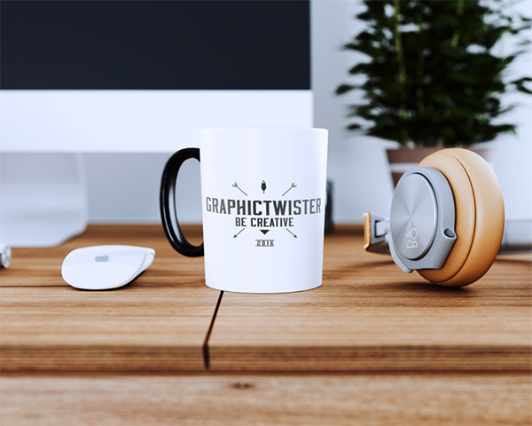 hipster scene cup