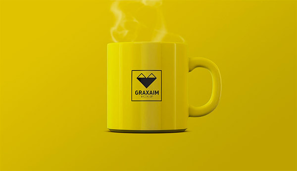yellow mug design