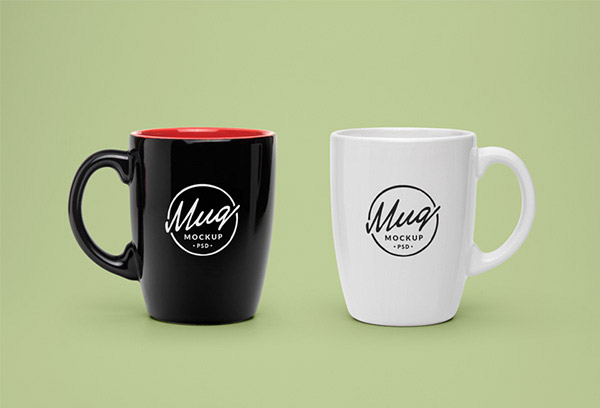 simple clean mugs