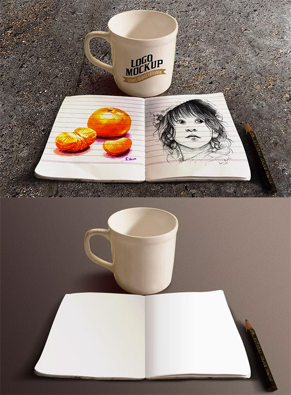 drawing book coffee