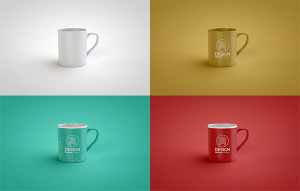 simple coffee cup template